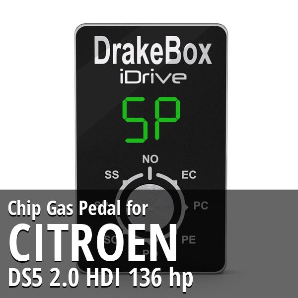Chip Citroen DS5 2.0 HDI 136 hp Gas Pedal