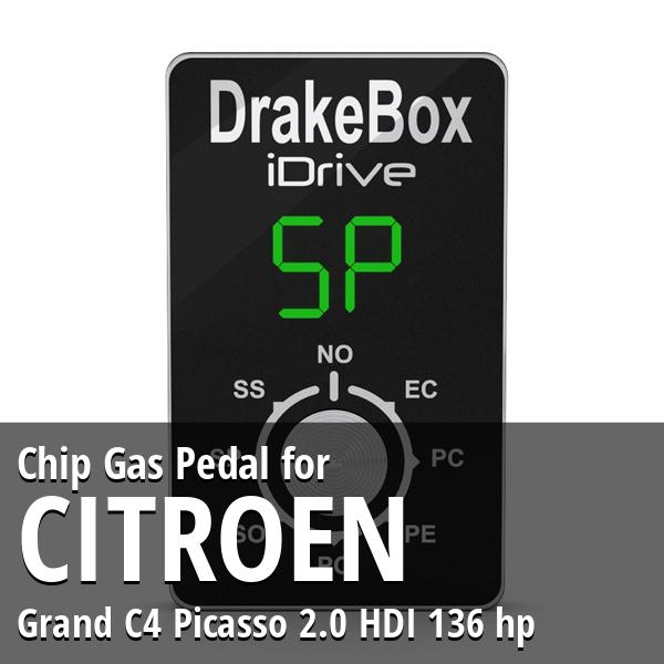 Chip Citroen Grand C4 Picasso 2.0 HDI 136 hp Gas Pedal