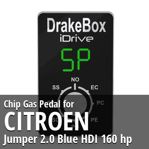 Chip Citroen Jumper 2.0 Blue HDI 160 hp Gas Pedal