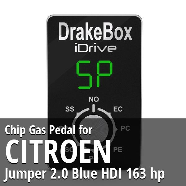 Chip Citroen Jumper 2.0 Blue HDI 163 hp Gas Pedal