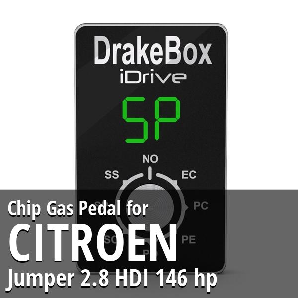 Chip Citroen Jumper 2.8 HDI 146 hp Gas Pedal