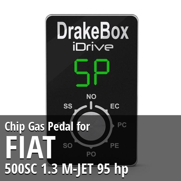 Chip Fiat 500SC 1.3 M-JET 95 hp Gas Pedal