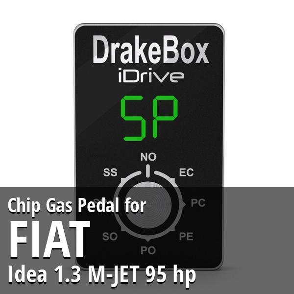 Chiptuning power box Fiat Idea 1.3 M-JET 70 hp Super Tech Express Shipping