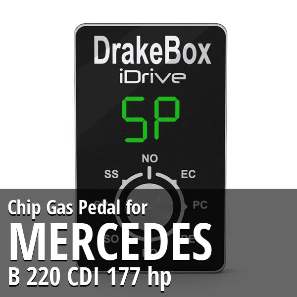 Chip Mercedes B 220 CDI 177 hp Gas Pedal