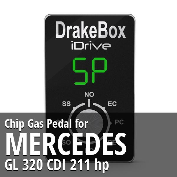 Chip Mercedes GL 320 CDI 211 hp Gas Pedal