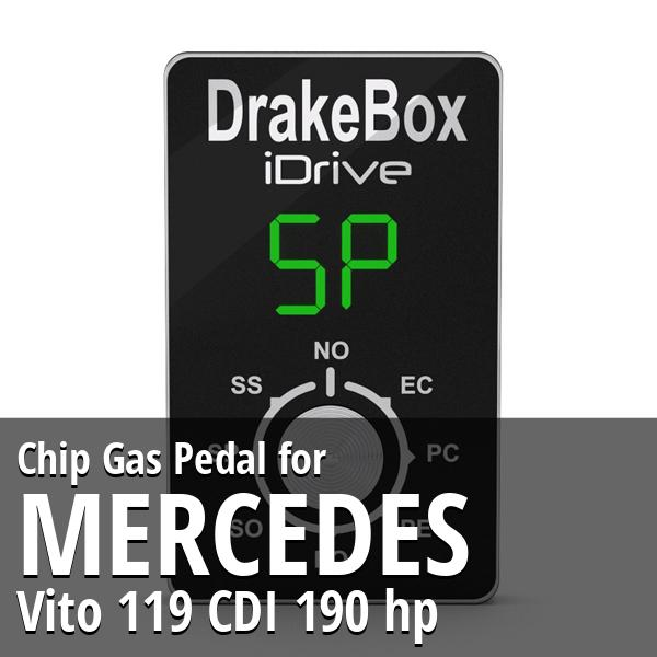 Chip Mercedes Vito 119 CDI 190 hp Gas Pedal