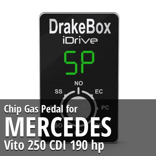 Chip Mercedes Vito 250 CDI 190 hp Gas Pedal