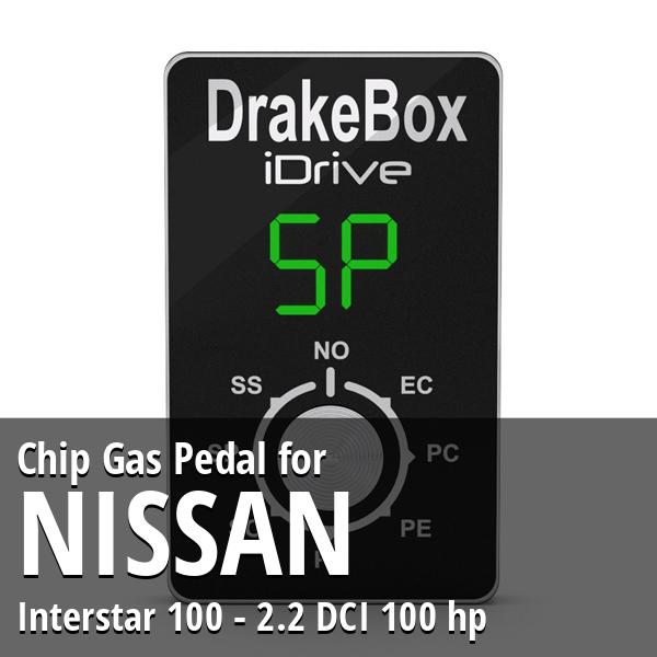 Chip Nissan Interstar 100 - 2.2 DCI 100 hp Gas Pedal