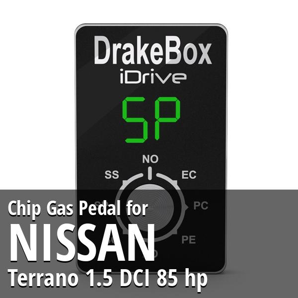 Chip Nissan Terrano 1.5 DCI 85 hp Gas Pedal
