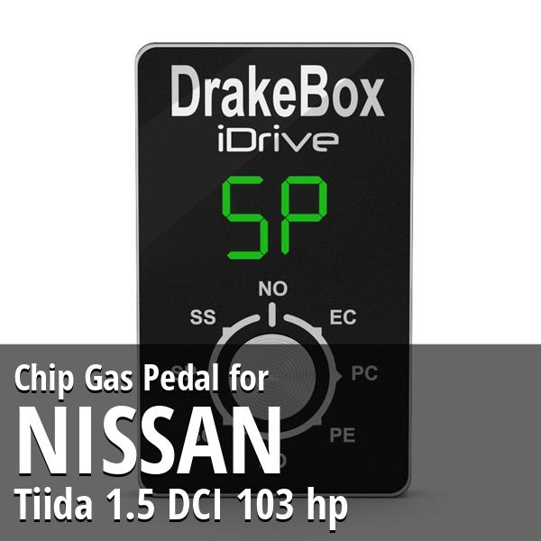 Chip Nissan Tiida 1.5 DCI 103 hp Gas Pedal