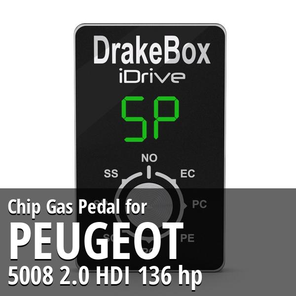 Chip Peugeot 5008 2.0 HDI 136 hp Gas Pedal
