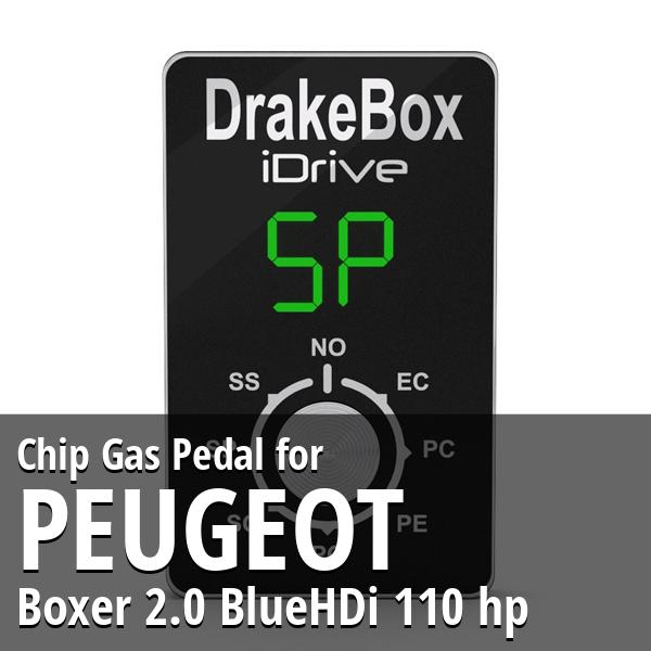 Chip Peugeot Boxer 2.0 BlueHDi 110 hp Gas Pedal