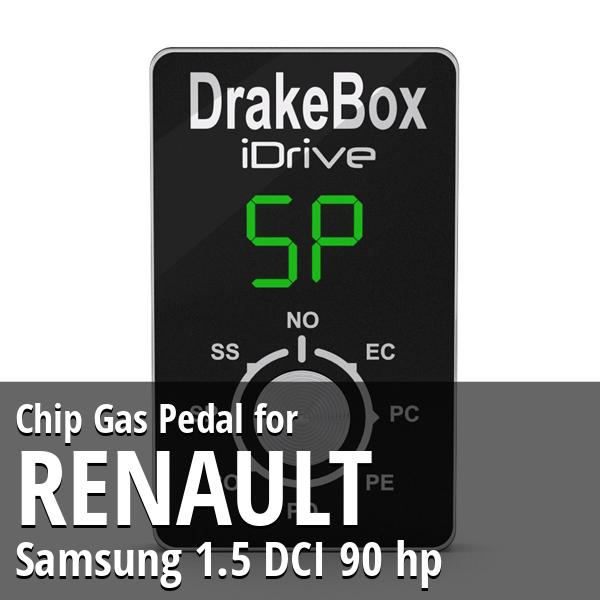Chip Renault Samsung 1.5 DCI 90 hp Gas Pedal