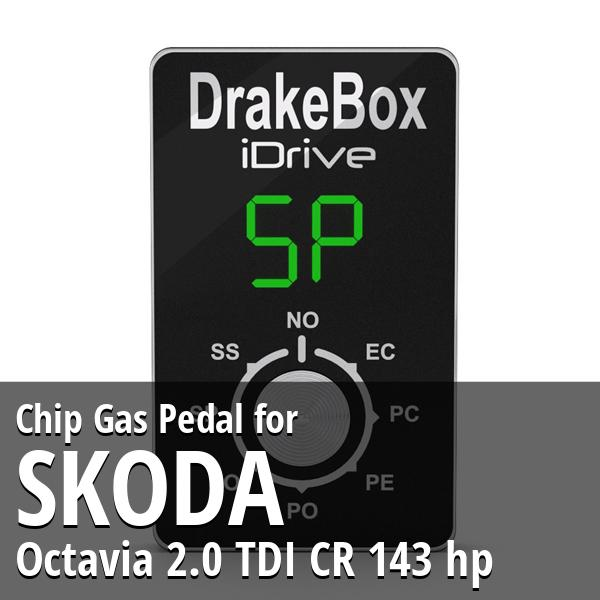 Chip Skoda Octavia 2.0 TDI CR 143 hp Gas Pedal