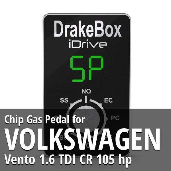 Chip Volkswagen Vento 1.6 TDI CR 105 hp Gas Pedal