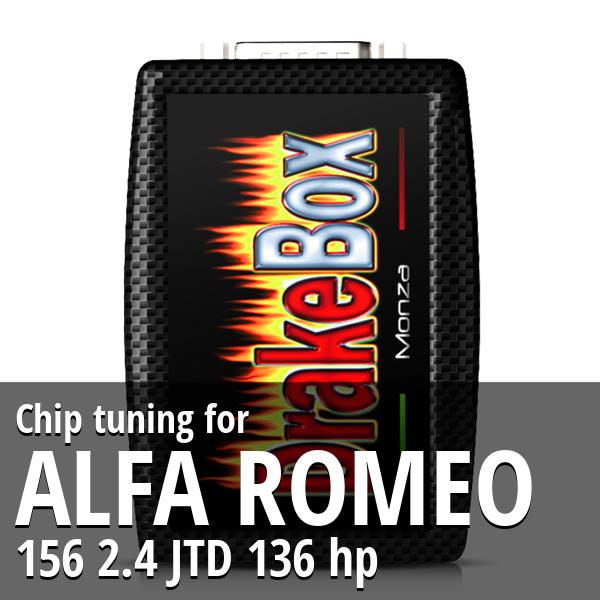 Chip tuning Alfa Romeo 156 2.4 JTD 136 hp