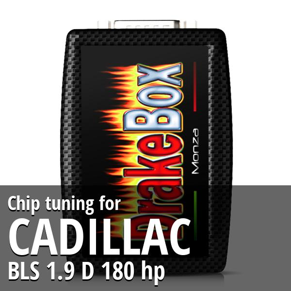 Chip tuning Cadillac BLS 1.9 D 180 hp