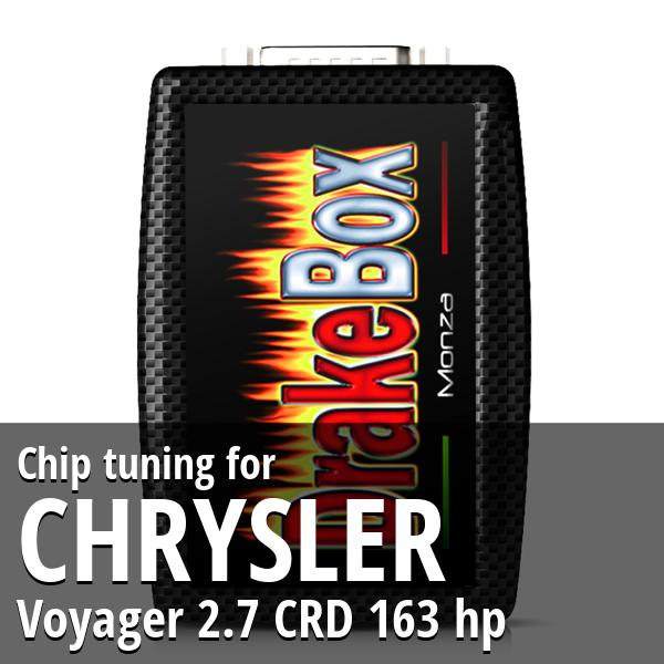 Chip tuning Chrysler Voyager 2.7 CRD 163 hp