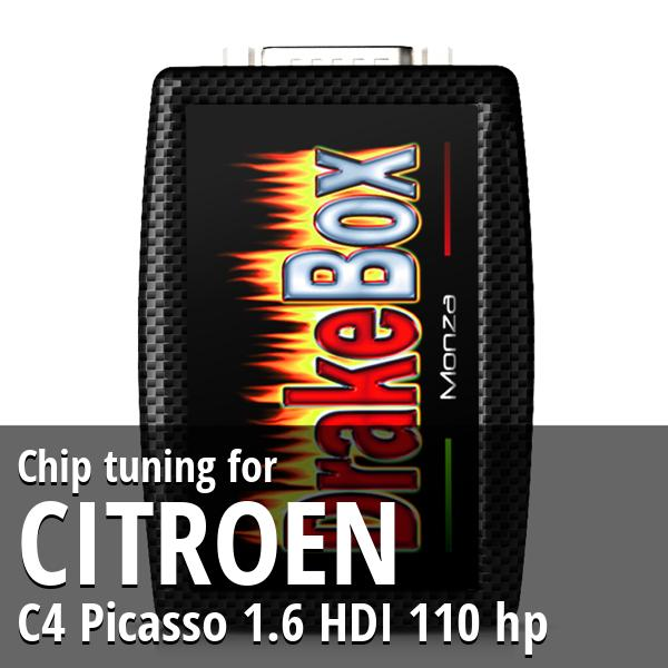 Chip tuning Citroen C4 Picasso 1.6 HDI 110 hp