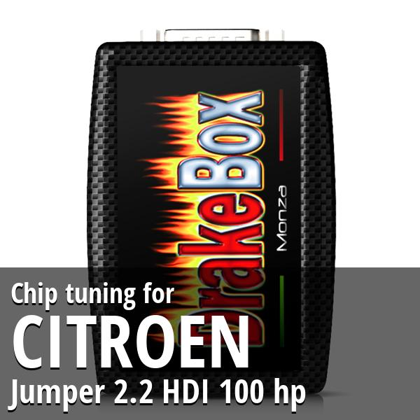 Chip tuning Citroen Jumper 2.2 HDI 100 hp