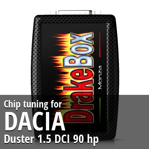 Chip tuning Dacia Duster 1.5 DCI 90 hp