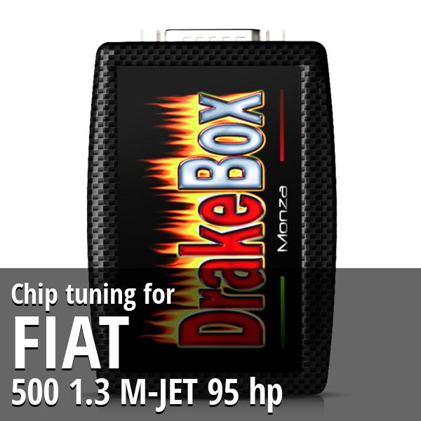Chip tuning Fiat 500 1.3 M-JET 95 hp