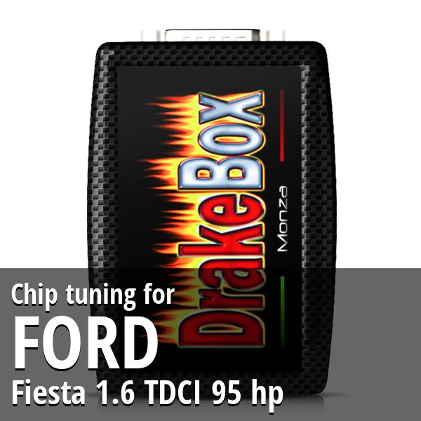 Chip tuning Ford Fiesta 1.6 TDCI 95 hp