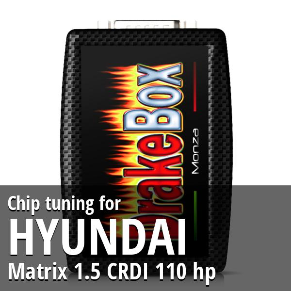 Chip tuning Hyundai Matrix 1.5 CRDI 110 hp