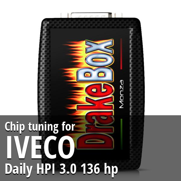Chip tuning Iveco Daily HPI 3.0 136 hp