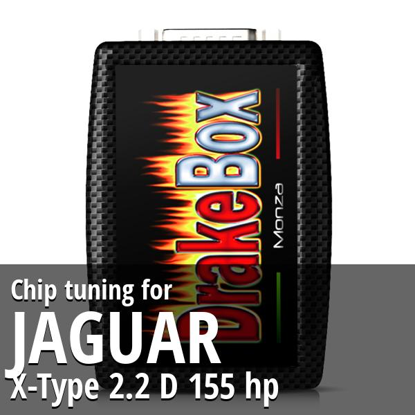 Chip tuning Jaguar X-Type 2.2 D 155 hp