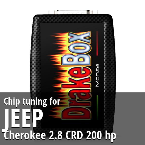 Chip tuning Jeep Cherokee 2.8 CRD 200 hp