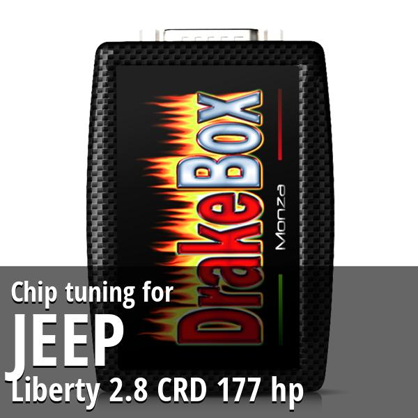 Chip tuning Jeep Liberty 2.8 CRD 177 hp