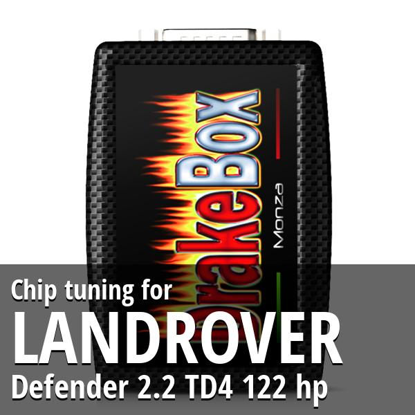 Chip tuning Landrover Defender 2.2 TD4 122 hp