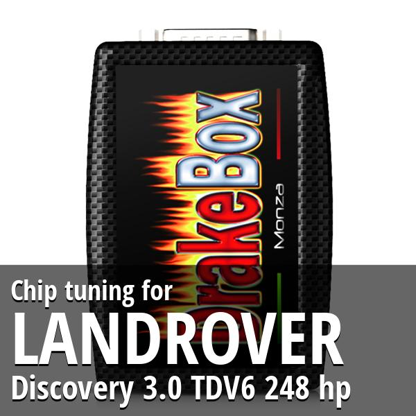 Chip tuning Landrover Discovery 3.0 TDV6 248 hp