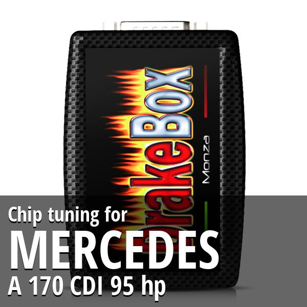 Chip tuning Mercedes A 170 CDI 95 hp