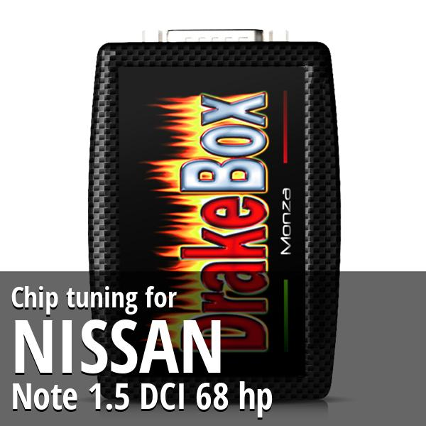 Chip tuning Nissan Note 1.5 DCI 68 hp