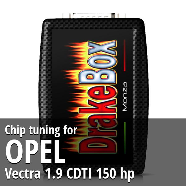 Chip tuning Opel Vectra 1.9 CDTI 150 hp