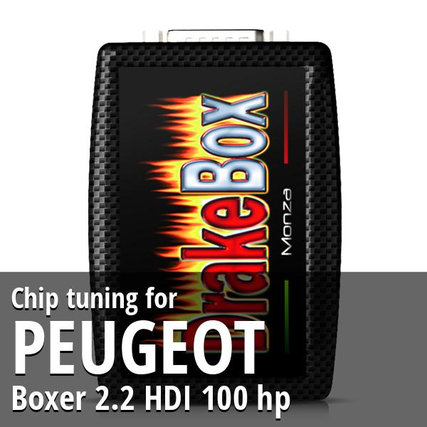 Chip tuning Peugeot Boxer 2.2 HDI 100 hp