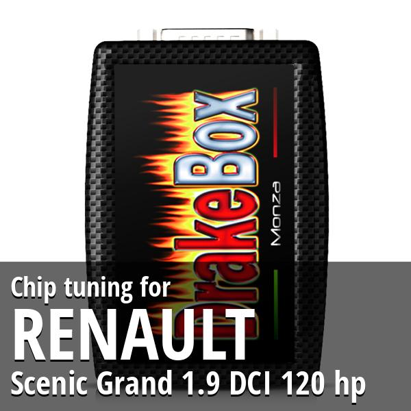 Chip tuning Renault Scenic Grand 1.9 DCI 120 hp